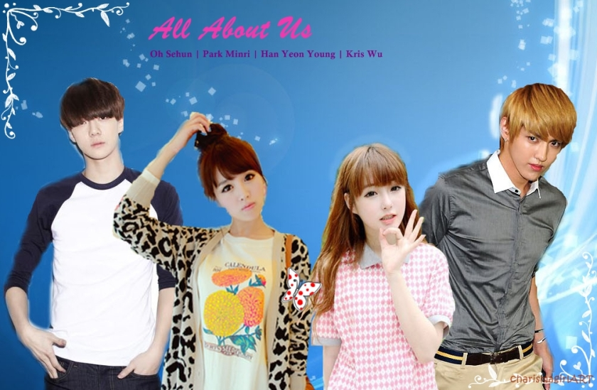 all about us {cover}