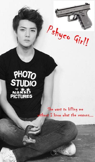 poster pshyco girl