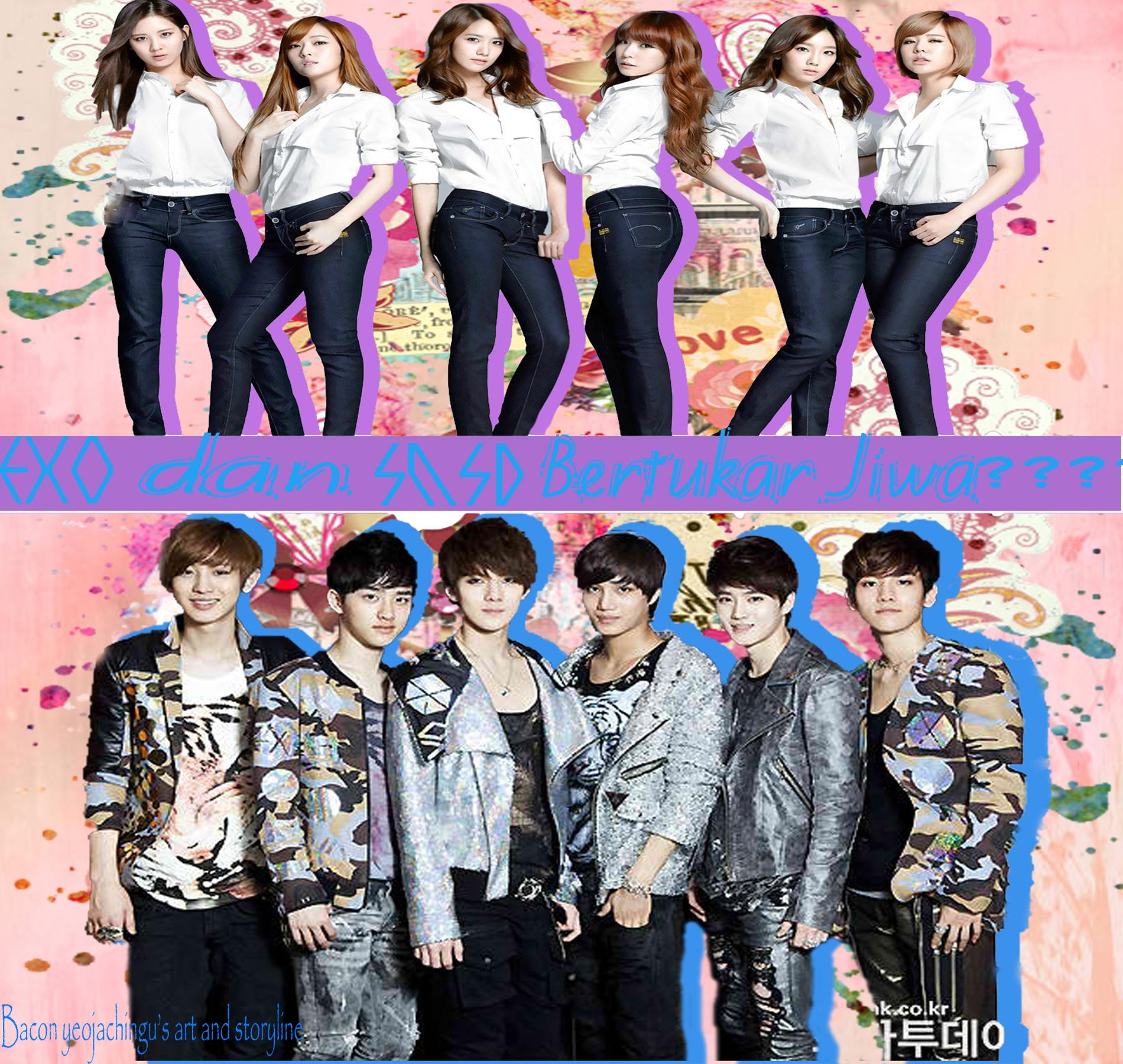 SMTOWN Family EXO DAN SNSD BERTUKAR JIWA Chapter 1