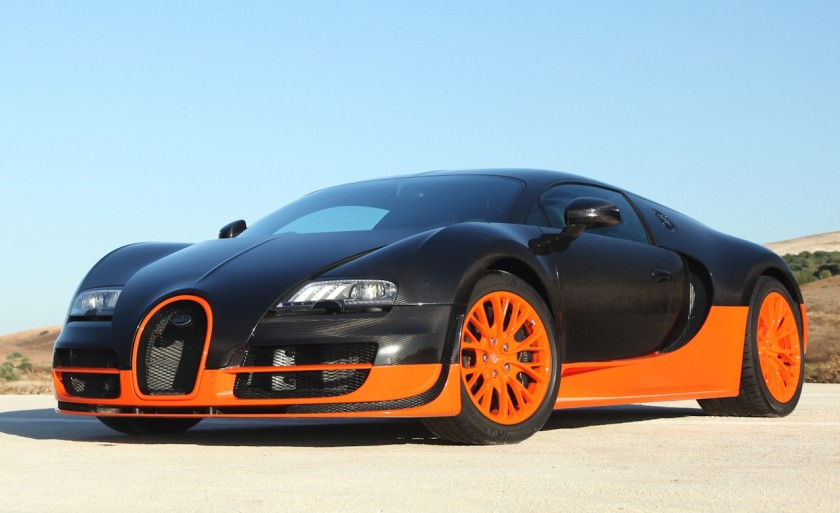 2011 Bugatti Veyron 16.4 Super Sport Photos
